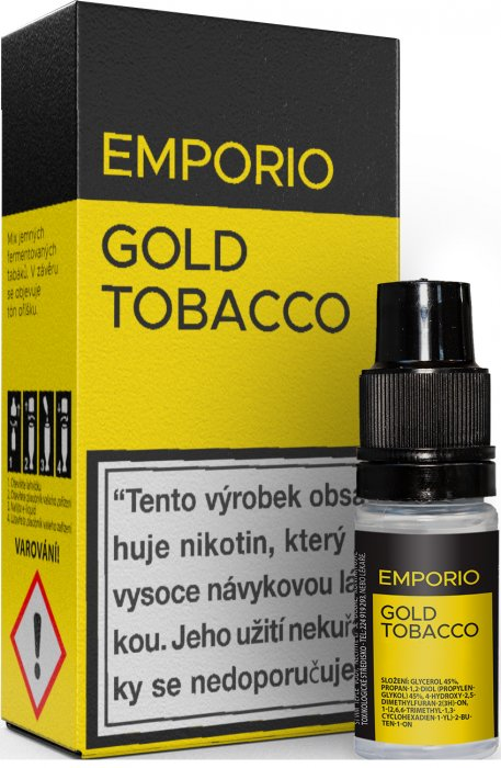 Imperia EMPORIO Gold Tobacco 10ml 18mg