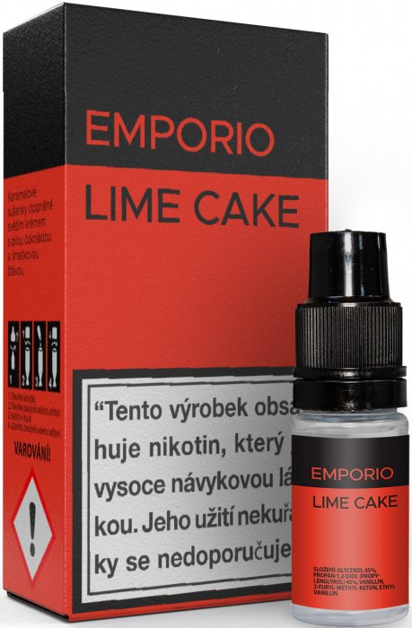 Imperia EMPORIO Lime Cake 10ml 3mg