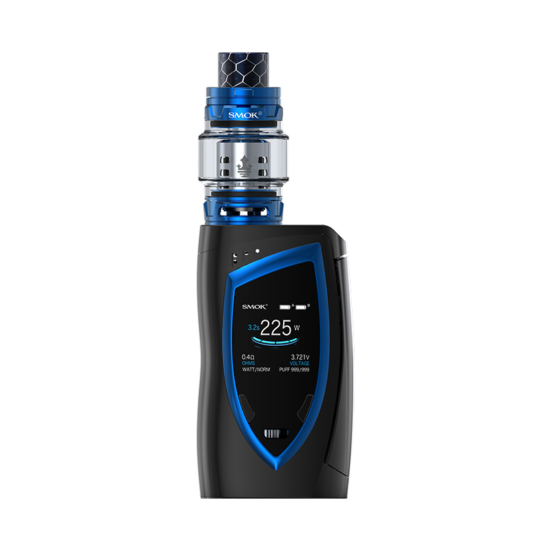 Smoktech Devilkin 225W Grip Full Kit Black-Prism Blue