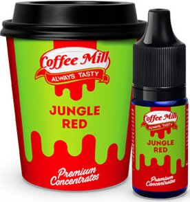 Příchuť Coffee Mill 10ml Jungle Red