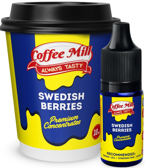 Příchuť Coffee Mill 10ml Swedish Berries