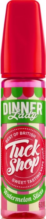 Dinner Lady Tuck Shop Shake & Vape Watermelon Slices 20ml