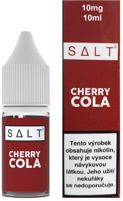 Juice Sauz SALT Cherry Cola 10ml 10mg