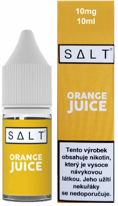 Juice Sauz SALT Orange Juice 10ml 10mg