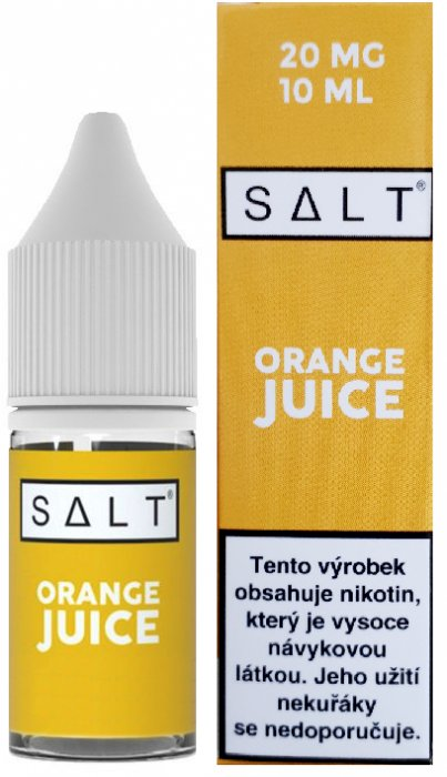 Juice Sauz SALT Orange Juice 10ml 20mg