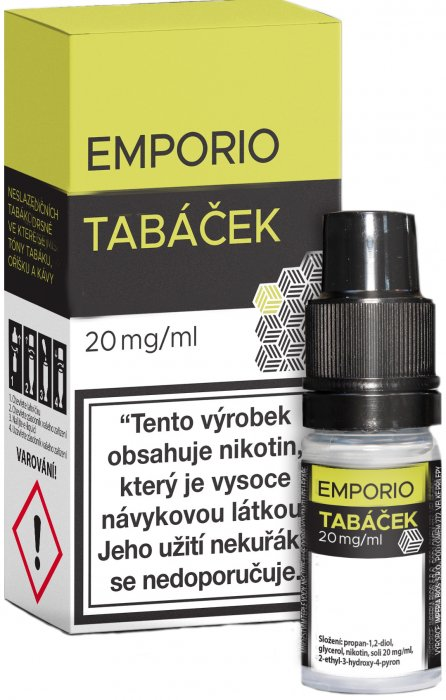 Emporio SALT Tobacco 10ml 20mg