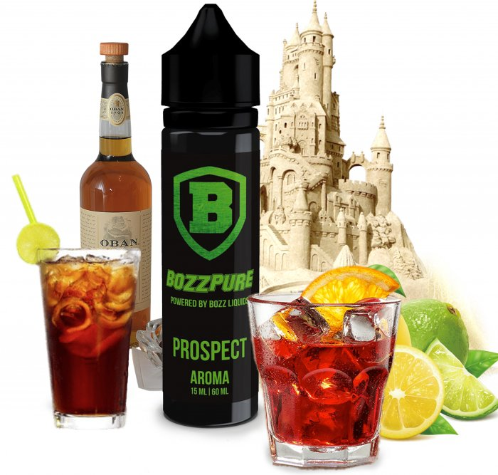 Příchuť Bozz Shake and Vape 15ml Prospect