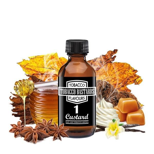 Flavormonks Tobacco Bastards No.01 Custard 10ml