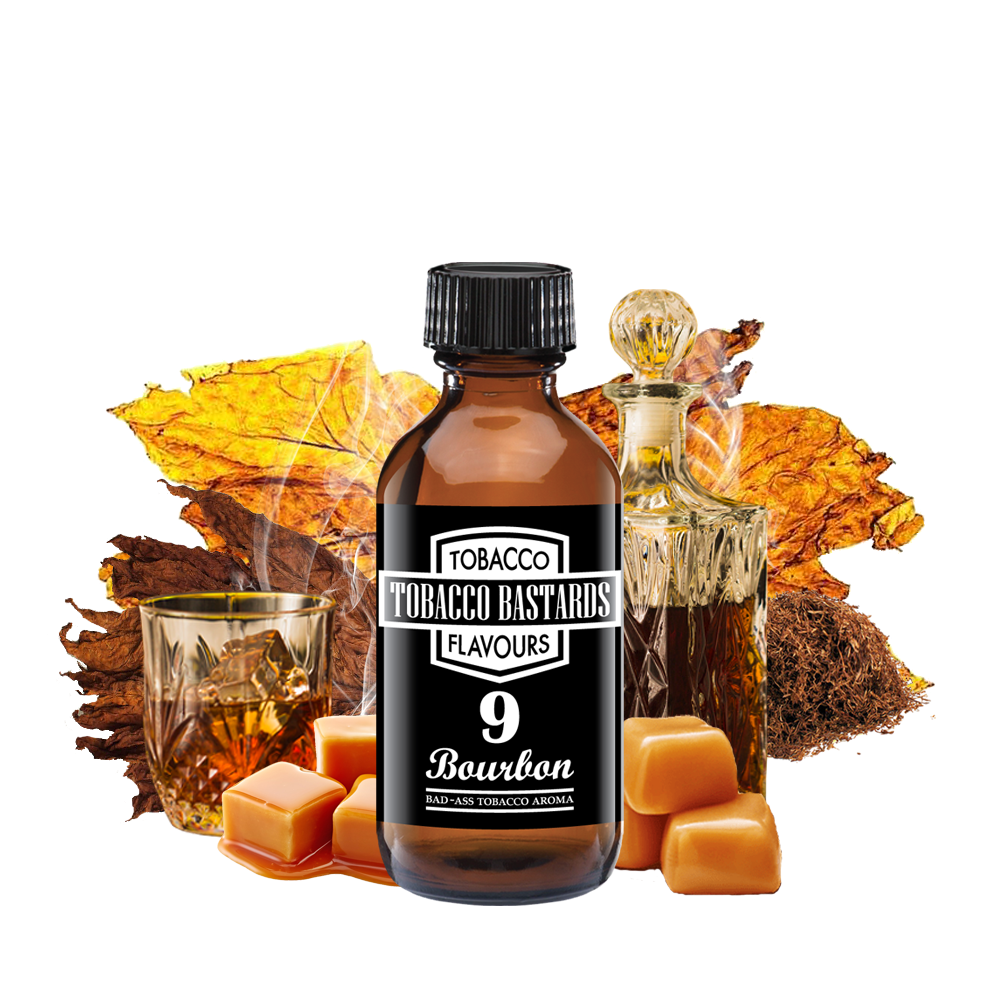 Flavormonks Tobacco Bastards No. 09 Bourbon 10ml
