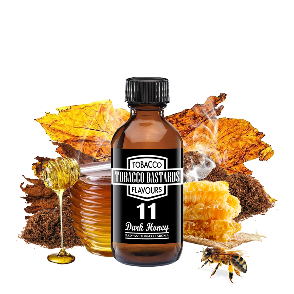 Flavormonks Tobacco Bastards No.11 Dark Honey 10ml
