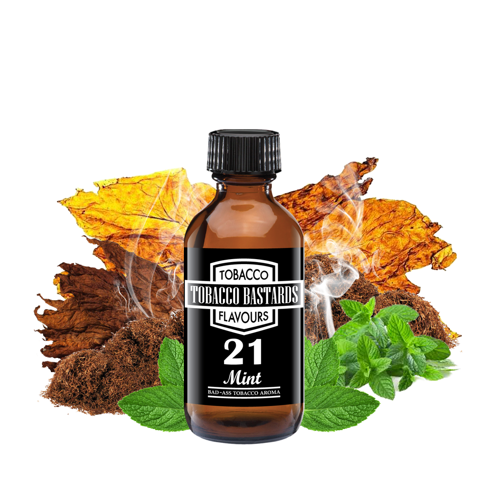 Flavormonks Tobacco Bastards No. 21 Mint 10ml