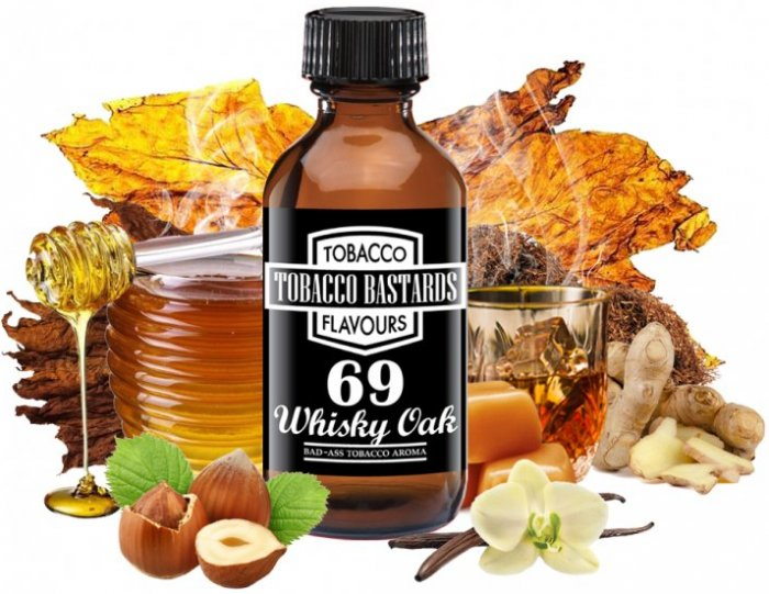 Flavormonks Tobacco Bastards No.69 Whiskey Oak 10ml