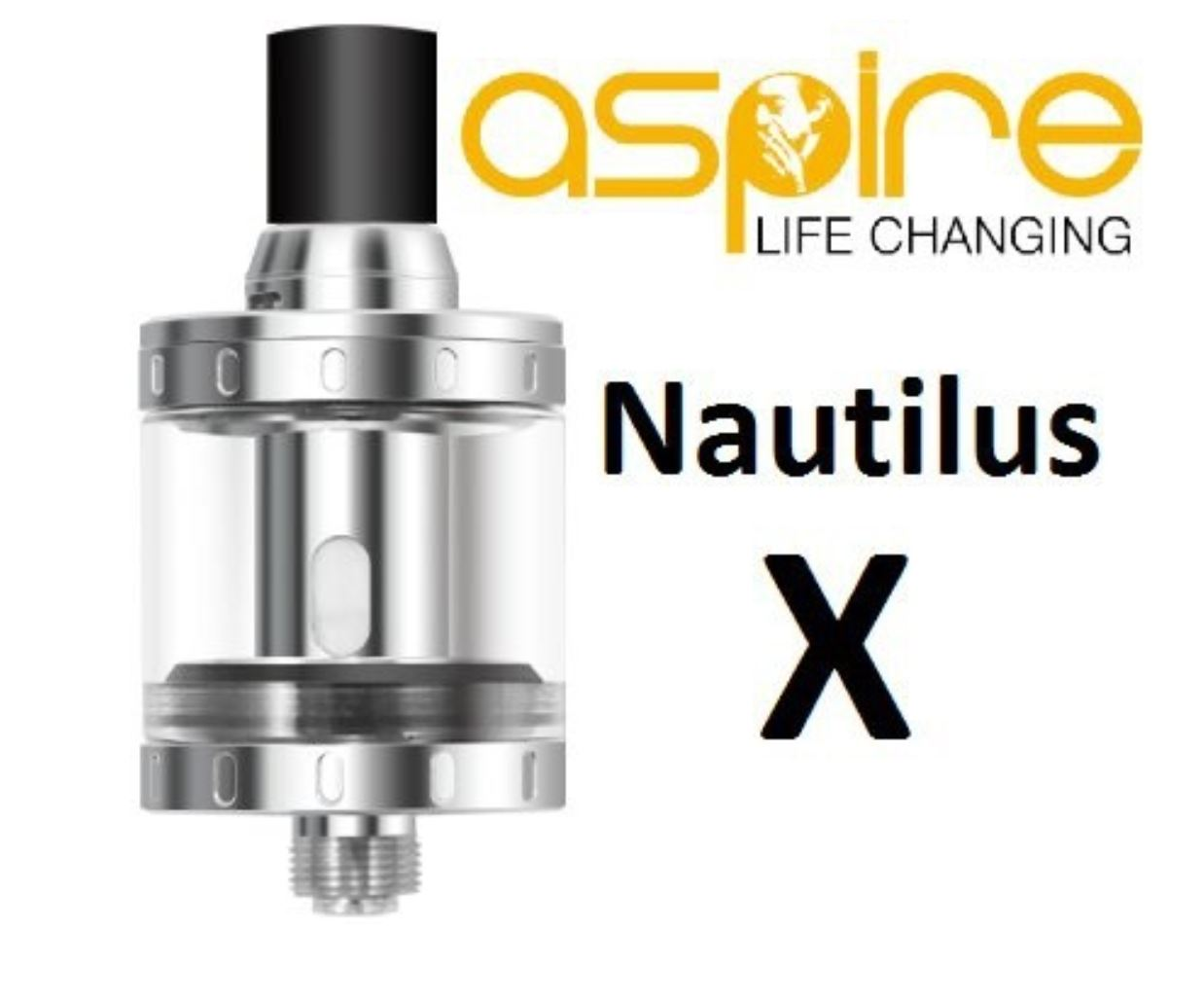 aSpire Nautilus X clearomizer Silver 2ml