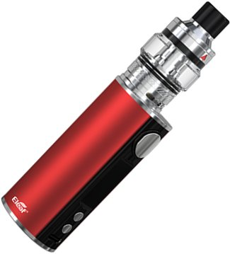 iSmoka Eleaf iStick T80 Pesso Grip Full Kit 3000 mAh Red 1 ks