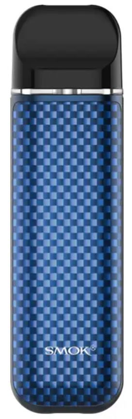 Smoktech NOVO 2 elektronická cigareta 800mAh Blue Carbon Fiber 1ks