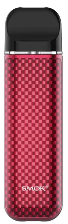 Smoktech NOVO 2 elektronická cigareta 800mAh Red Carbon Fiber 1ks
