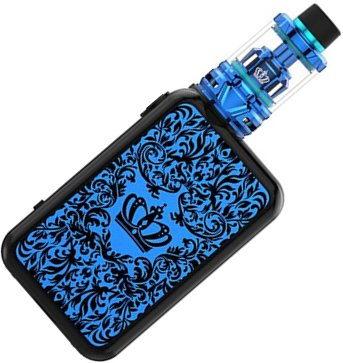 Uwell Crown 4 TC200W grip Full Kit Blue 0 mAh 1 ks