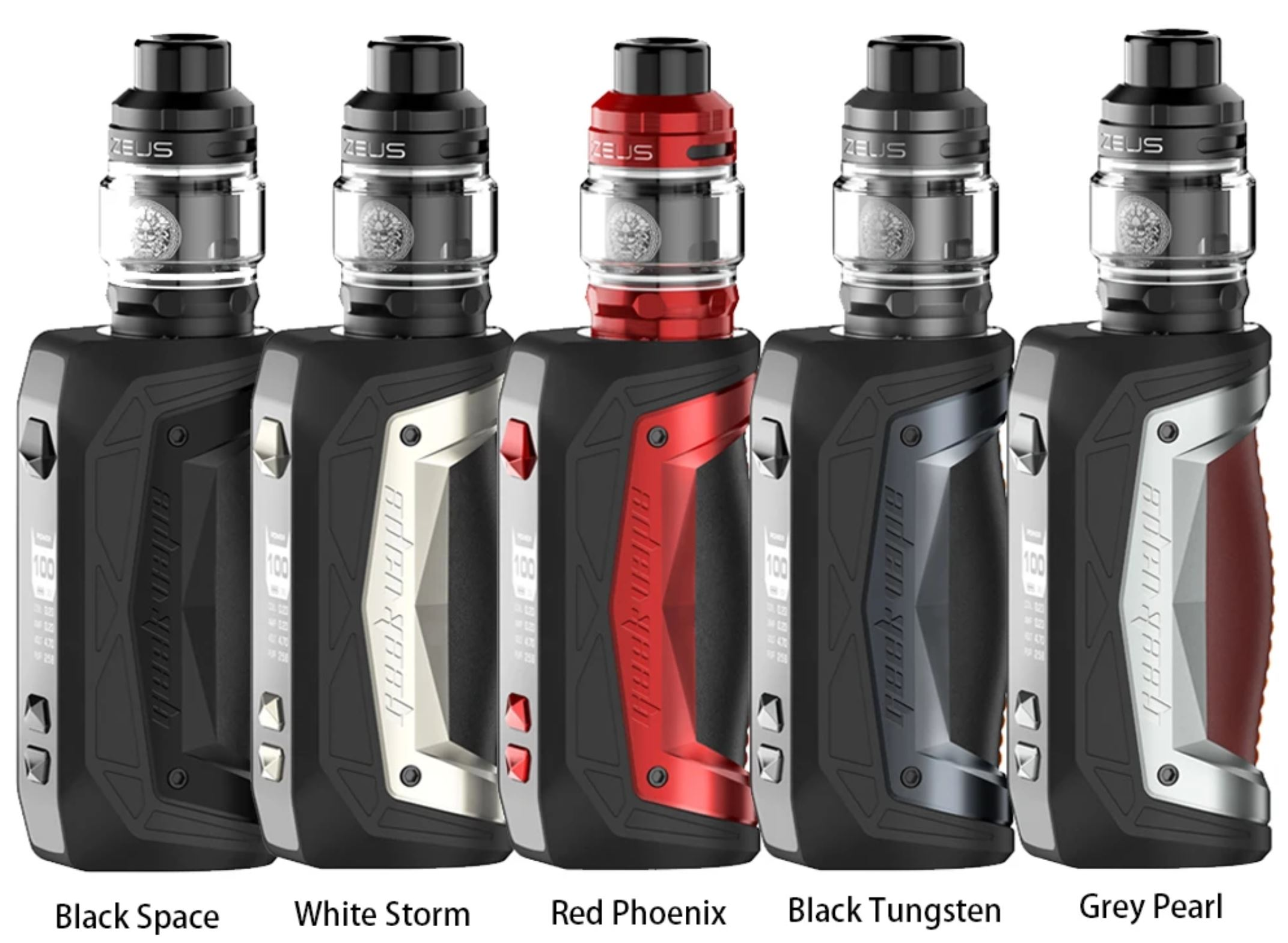 GeekVape Aegis Max 100 W 0 mAh grip Full Kit Black Space 1 ks
