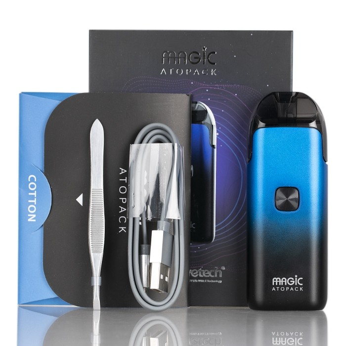 Joyetech ATOPACK Magic elektronická cigareta 1300 mAh Black 1 ks