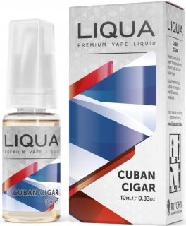 LIQUA Elements Kubánský doutník 10ml 3mg
