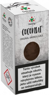 E-liquid Dekang Coconut 10ml 18mg (kokos)