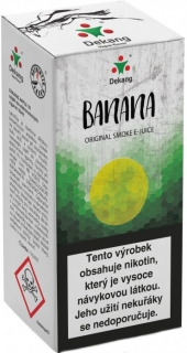 E-liquid Dekang Banan 10ml 3mg (banán)